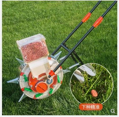 农作物玉米播种机 多功能 全自动 小型点播器花生机农用点种