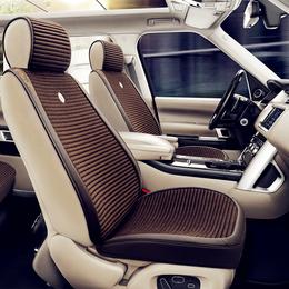 2017天艺美狮途汽车坐垫秋冬新款3D超柔半包冬季养生绒布四季坐垫
