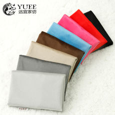 Yuanyi home textile suede latex seat cover seat cushion cover winter summer household chair cushion cover without core