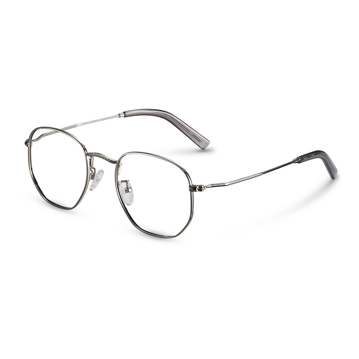 今年很流行这种金丝边框的眼镜,金色自带复古的质感,非常时尚.