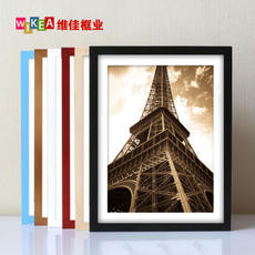 Solid wood picture frame wall 16 inch 14 18 20 24 30 32 8 open 4k A3 puzzle poster picture frame mounting a4