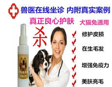 Dogs enhance immunity, repair skin diseases, cats and dogs, hair loss, peeling, beauty, skin care, pet care products