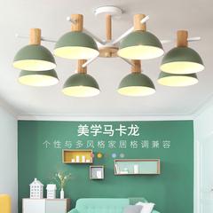 北欧彩色马卡龙吊灯创意客厅卧室灯个性餐厅灯现代简约儿童房灯具