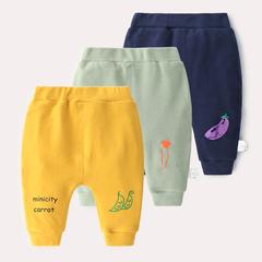宝宝打底裤女秋装0到1岁婴儿春秋长裤子3-6-12个月男新生儿弹力裤