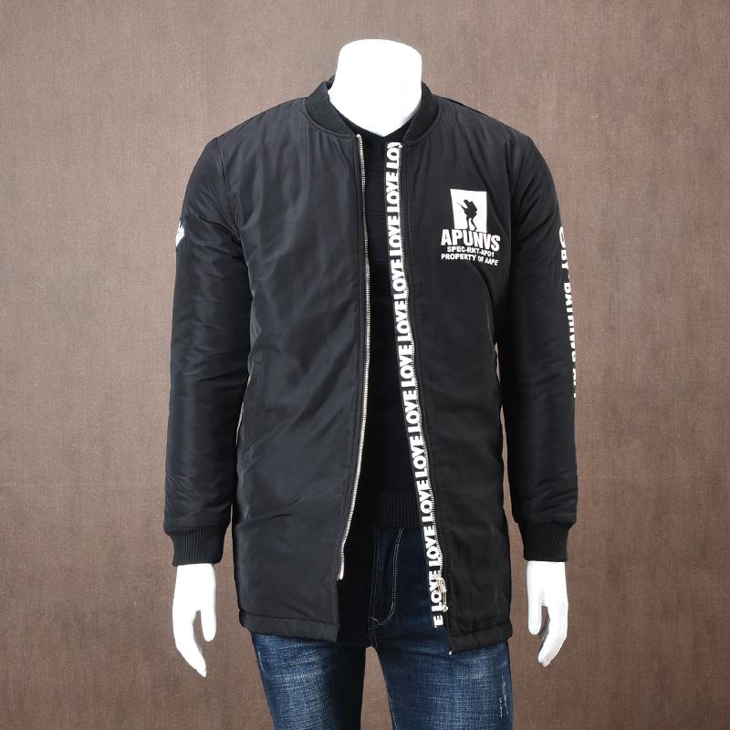 老客福利 手塞棉 外贸男装工厂剪标尾单加厚保暖中长款棉衣外套潮