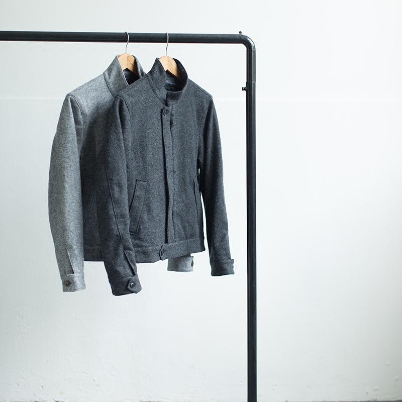 几立|双色夹克
