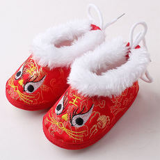 Spring and summer tiger head shoes baby catching week tiger shoes soft bottom toddler shoes men and women 100 years old 6-12 months full moon shoes