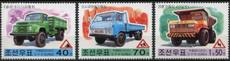 North Korea 2000 Stamp Car Victory Truck 3 All Original Rubber Products