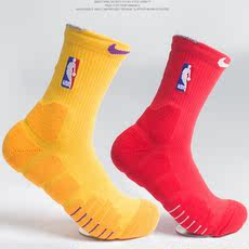 NBA basketball socks thickening towel bottom combat socks in the tube basketball socks men's sports socks basic socks
