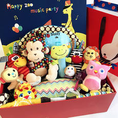 Baby products baby toys gift box full moon hundred days toy gift box set infant game carpet maternal and child gifts