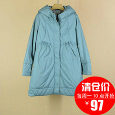 Women's Congress R.T. Autumn and Winter Mori Girl's Long Cotton Jacket R13Q182619 Catcher in the Rye