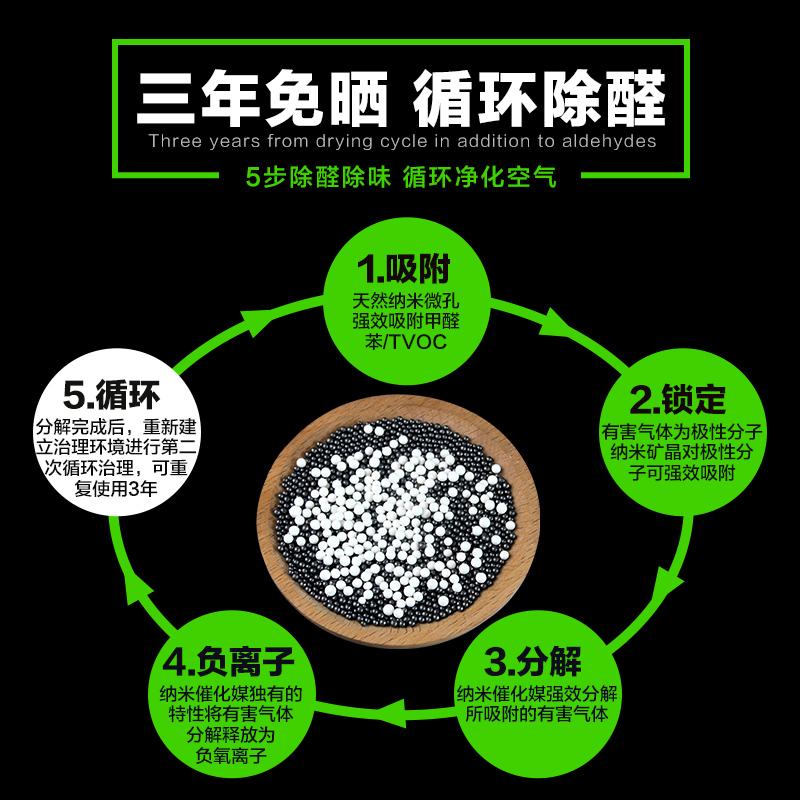 纳米矿晶吸甲醛神器除异味室内甲醛克星净化活性炭包新房家用除味