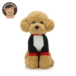 毛绒玩具狗狗公仔生日泰迪狗仿真小狗玩偶布娃娃儿童抱枕礼物女