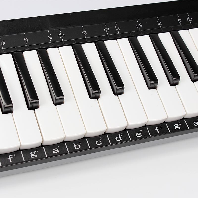 天鹅37键口风琴学生练习 课堂教学专用手风琴儿童口风