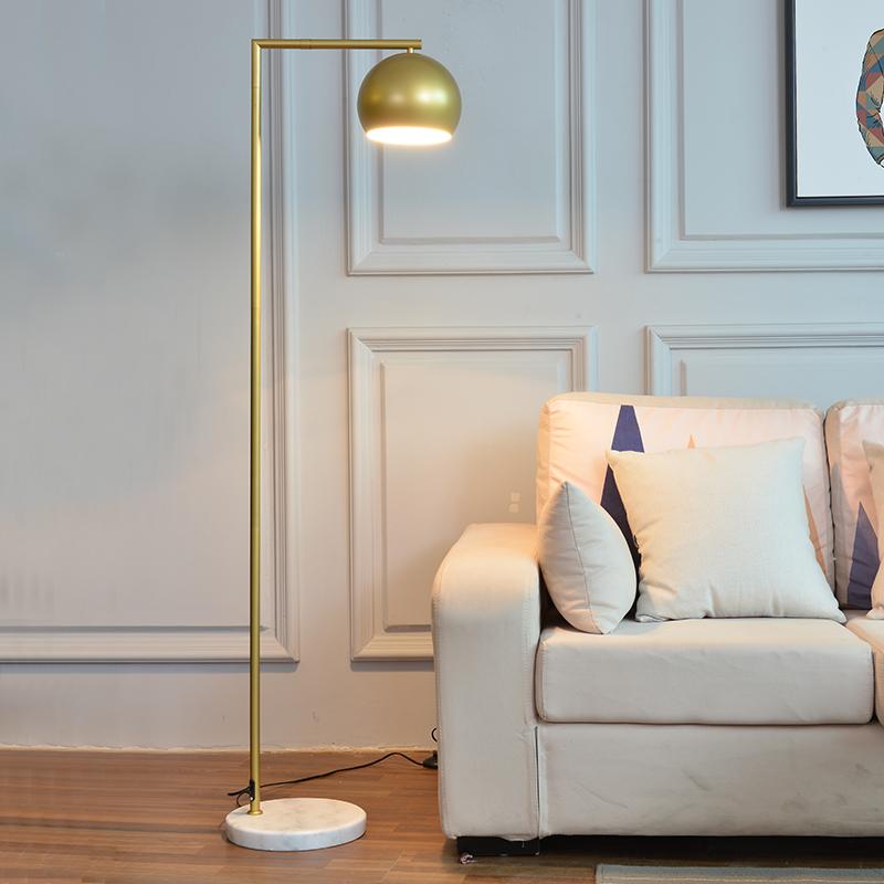 意大利北欧落地灯客厅卧室床头办公室简约创意沙发后现代落地台灯