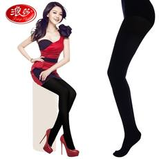 Langsha Langsha plus velvet romper anti-silk 1200D Langsha pantyhose Thicker pantyhose multi-color