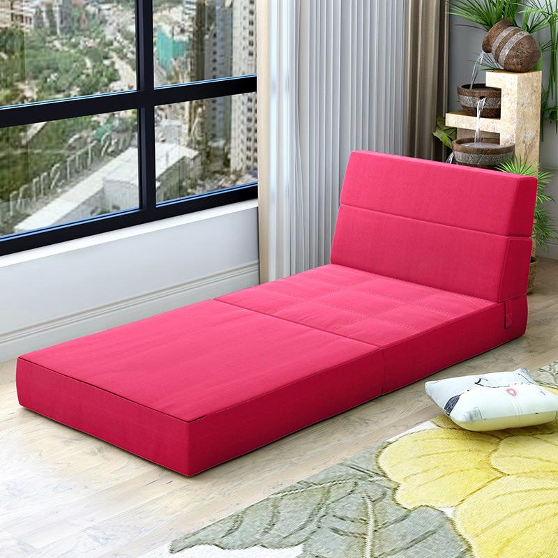 折叠床地铺单人家用午休床单人床垫便携变沙发靠背两用多功能简易