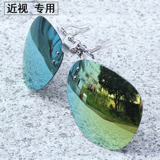 Myopia sunglasses clip polarizer clip sunglasses clip fishing mirror driver mirror men and women sunglasses
