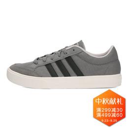 adidas/阿迪达斯女帆布鞋灰白低帮场下休闲篮球鞋板鞋B42307