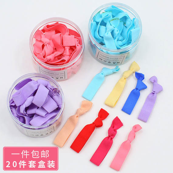 New head rope small fresh and simple personality Sen female adult tiara hair ring cute tie hair wild rubber band