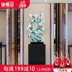 太湖石透明雕塑工艺品 酒店售楼处大件落地 玄关摆件创意客厅装饰