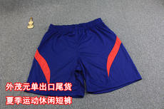 [TF factory shop] export single summer light breathable fabric 5 points pants shorts men