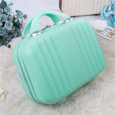Lovely Makeup Box Girl Hand bag Travel Storage Small trumpet 14 Inch Large capacity Married Mother 13 Small box