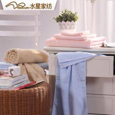 Mercury home textile toning hair towel three-piece water absorption to increase soft home adult suit bath towel heart Yi