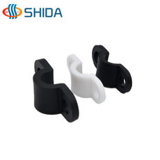 Shida plastic curved crimping line card injection line buckle cable wire crimping clip plastic bridge type wire retainer