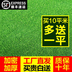 Artificial turf wall plastic mat fake grass green decoration simulation plant outdoor artificial turf carpet kindergarten