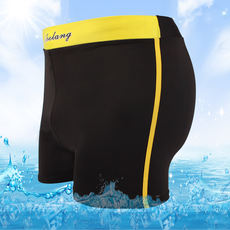 Men's nylon sexy low waist swim trunks Hot spring bathing swimsuit XL men's swim trunks manufacturers wholesale