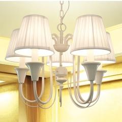欧式简约客厅灯具餐厅灯卧室儿童房灯饰创意铁艺北欧美式乡村吊灯