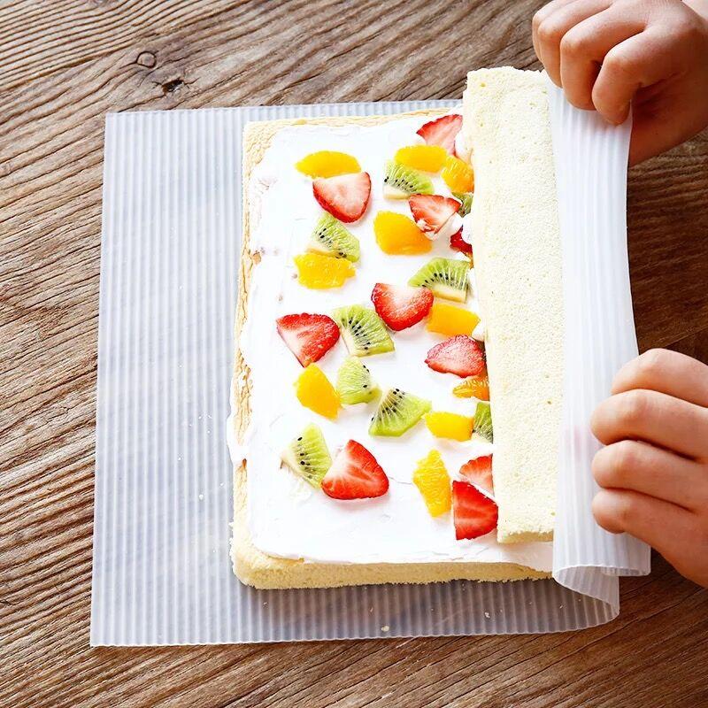 烘焙硅胶寿司帘 蛋糕卷帘 蛋糕卷工具  大号寿司卷