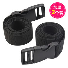Outdoor equipment bundled with straps backpack with nylon backpack buckle buckle buckle belt camping tent accessories