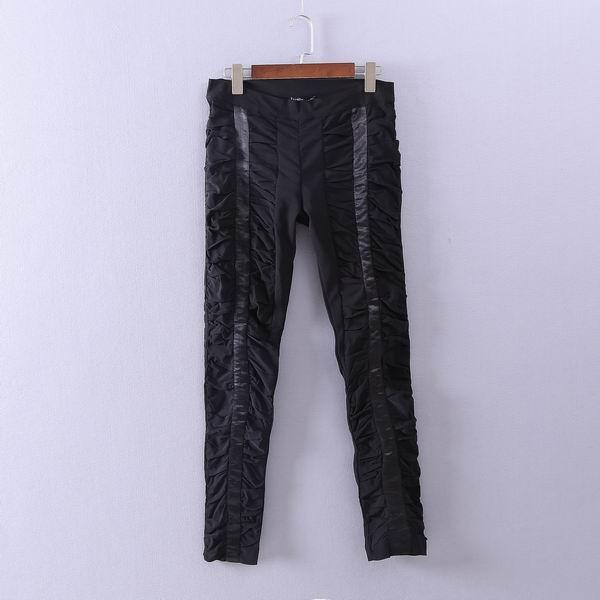 春季新款高腰长裤大码女裤胖mm直筒裤修身显瘦休闲裤外穿职业裤