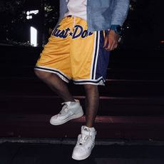 BBOSS Just Don Jerry with the Lakers basketball mesh shorts five-pants FOG style