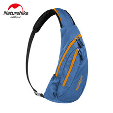 NH Moves small chest bag men and women shoulder bag Outdoor travel sports Messenger bag Fashion riding hiking leisure bag
