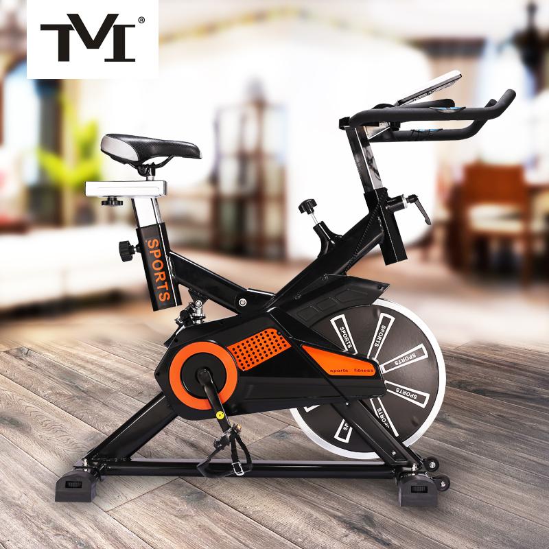加宽5槽皮带动感单车家用静音室内健身车脚踏运动自行车健身器材