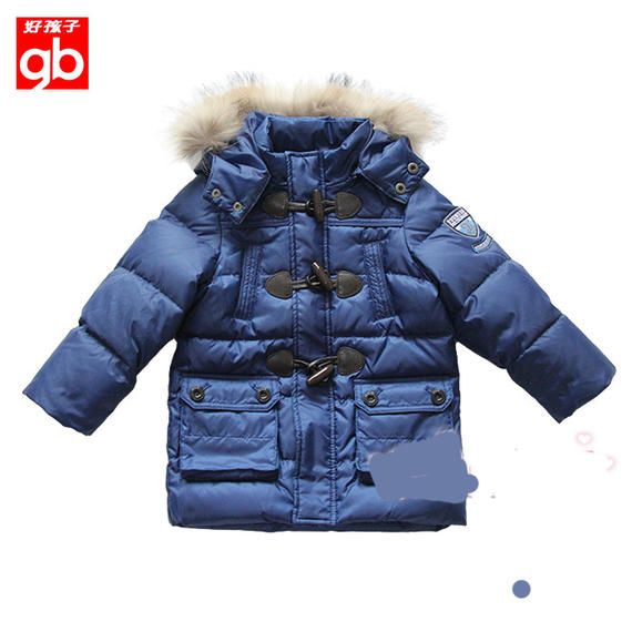 Good boy boy down jacket counter direct sales 90 yards BW15411218 90% white duck down boys down jacket