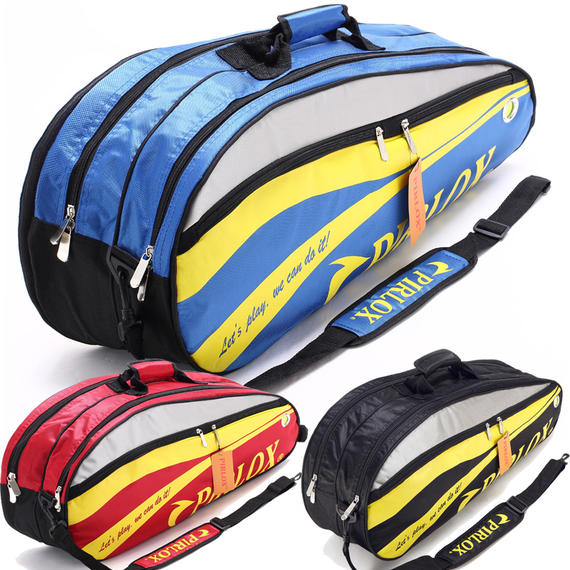 Pai Lukes badminton bag 4~6 sticks with independent shoe bag racket bag for men and women shoulder waterproof