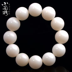 9.9 包邮 Burmese white jade Bodhi bracelets 2.0 male loose beads accessories Bodhi beads beads innocent