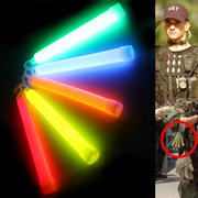 Outdoor 6-inch large with hook fluorescent stick concert light stick adventure camping luminous lighting stick survival equipment