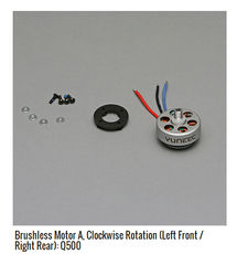 Yuneec Q500 Cloud Eye Aerial Camera Original Parts Brushless Motor, Positive and Negative Brushless Disc Motor