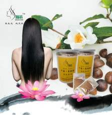 Factory direct hair care hair tea seed powder Shun core dry ginger tea bran shampoo