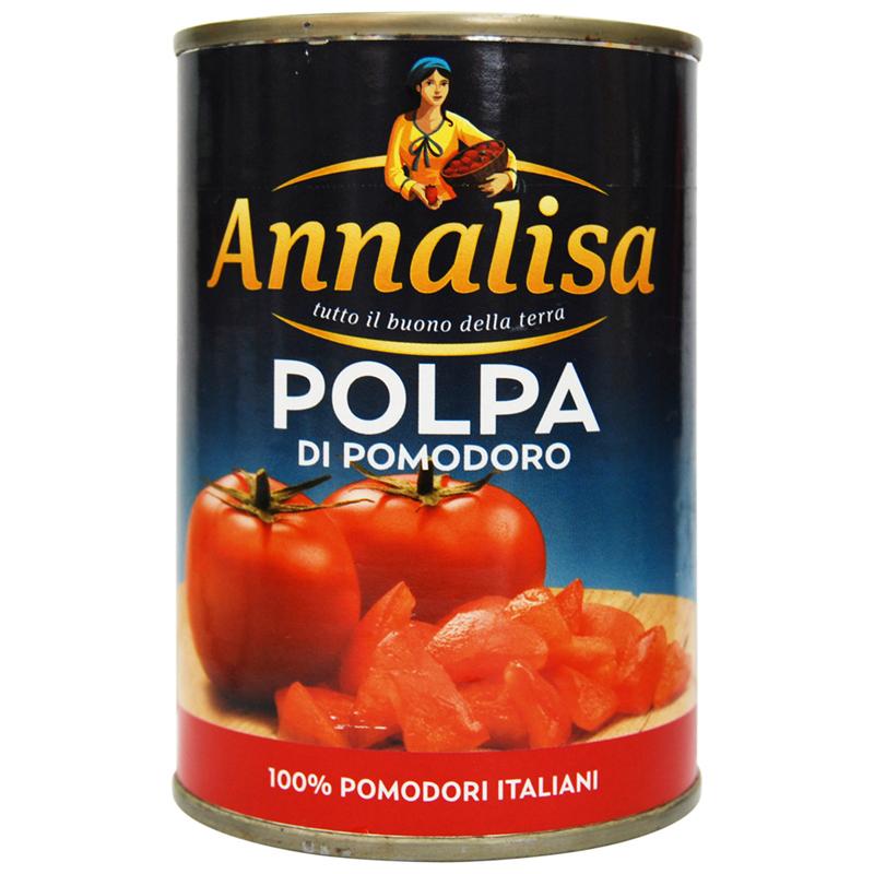 安娜丽莎碎番茄ANNALISA Chopped Tomato意大利原装进口西餐原料
