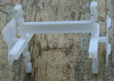 Glass brick construction accessories bracket 10mm6mm a brick with a large amount of discount 0.8 yuan / only