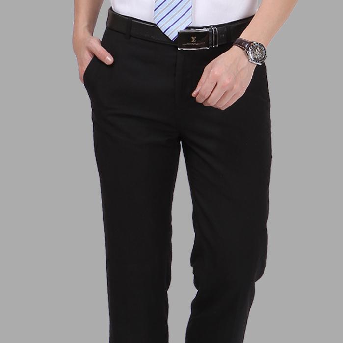 男装西裤 男士韩版修身正装裤免烫西裤 英伦商务休闲男西装裤