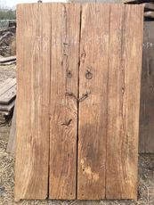 Old Elm Old Door Sheet Old Door Plate Tea Table Stair Board Bar Weathered Old Wood Desktop Partition Decoration Furniture