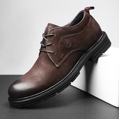真皮大头皮鞋5152英伦大码男鞋45 46 47 48特大号商务休闲鞋49 50