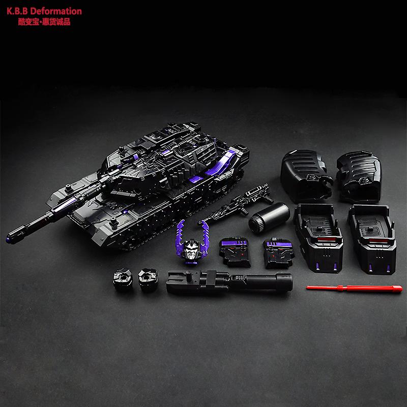 变形玩具金刚4 酷变宝暗黑矅合金版坦克威震天汽车机器人模型现货